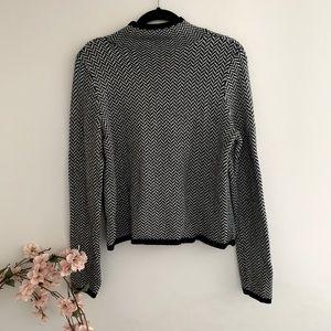 Lauren Ralph lauren mockneck wool knit sweater